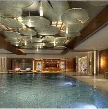 山西亿汇SPA馆设计-室内游泳池